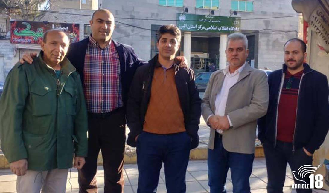 Pray with 5 Iranian Christian converts reporting to prison